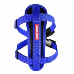 POSTROJ EZYDOG CHEST PLATE™ HARNESS + CAR RESTRAINT 1 - MODRÝ
