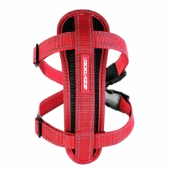POSTROJ EZYDOG CHEST PLATE™ HARNESS + CAR RESTRAINT 1 - ČERVENÝ